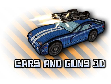 cars and guns 3D game promo