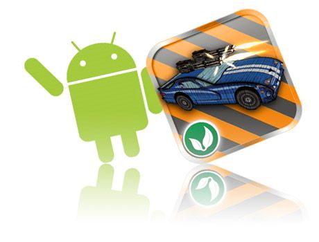 cars and guns 3D game promo - android