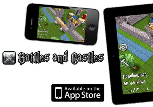 Battles and Castles game promo